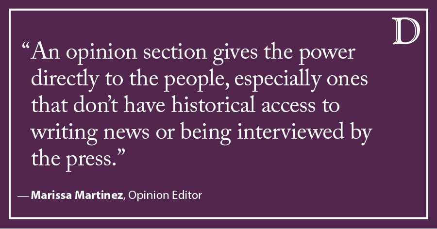 Martinez: Saying goodbye to Opinion — but not the lessons