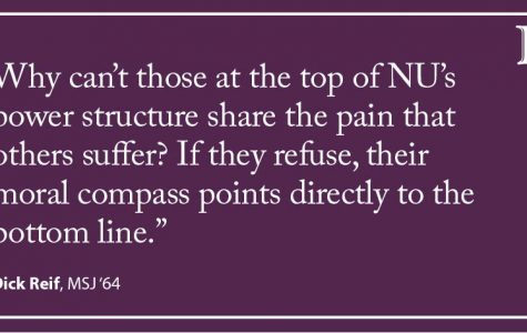 Letter to the Editor: For extra cash, NU should turn from endowment to high salaries