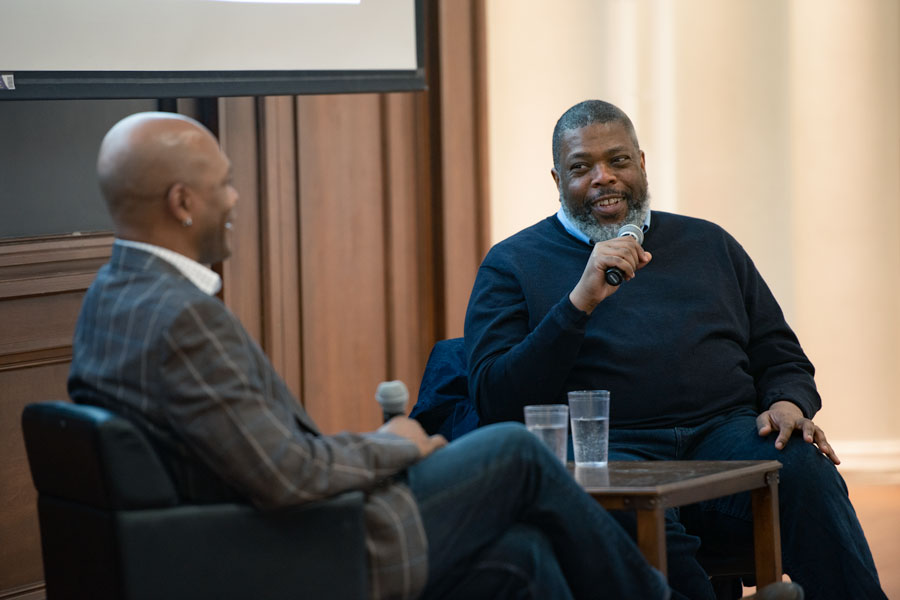 New Yorker theatre critic Hilton Als speaks as part of Contemporary Thought Speaker Series. Als discussed the role of criticism in art.
