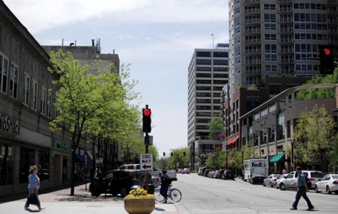 Downtown Evanston. Many commercial property owners are worried that the increase in property values will correlate to a significant increase in their 2020 tax bill, which could potentially drive small businesses out of the city.