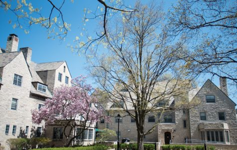 Northwestern's sorority quad.