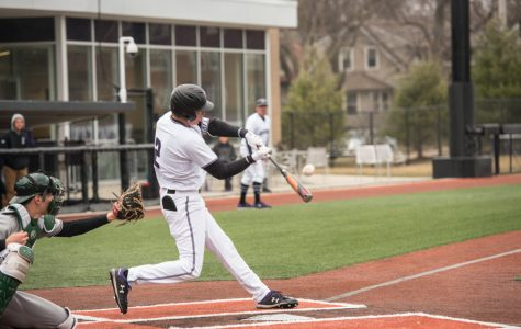 Baseball: Erro and Dunn lead Northwestern to victory against Chicago State
