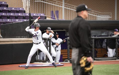 Baseball: During delays, Northwestern players have different ways of staying loose