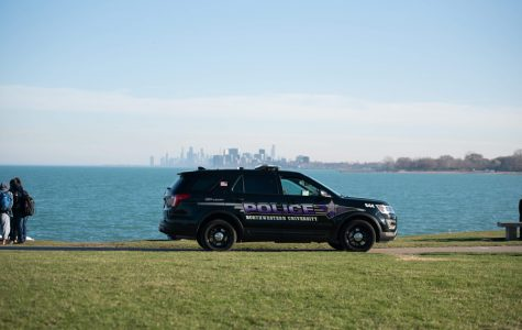 A University Police vehicle. UP is investigating a robbery on the Chicago campus.