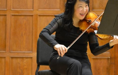 Striking Chicago musicians perform at Northwestern