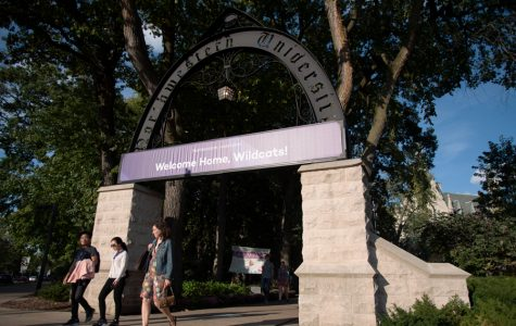 The Arch, one of Northwestern's most recognizable symbols. Provost Jonathan Holloway said the school will have to confront demographic changes in the decade to come.