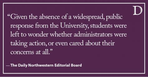 Editorial: University's response to racist incidents on campus was inadequate
