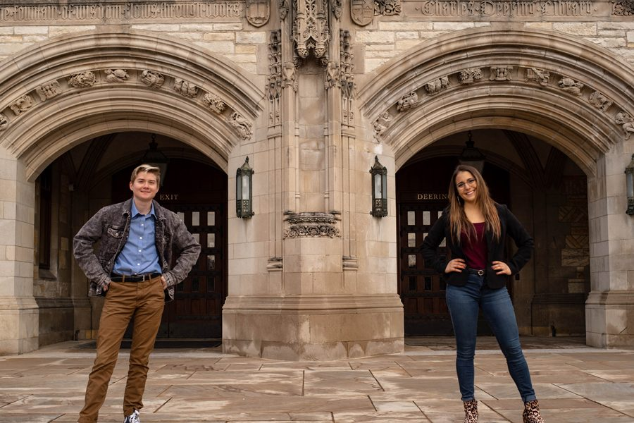 SESP juniors Izzy Dobbel and Adam Davies won the ASG presidential election with about 75 percent of the vote, though only 852 students voted, a 10-year low.