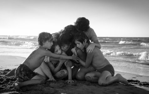 A still from Roma. Gabriela Rodriguez, a producer of the Oscar Best Picture-nominated film, will speak on campus on Friday.