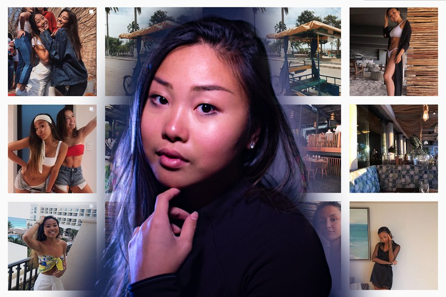 Annie Gao. The SESP sophomore works with College Fashionista.