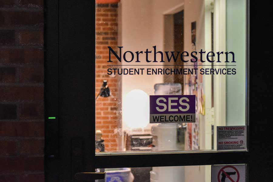 The entrance to the Student Enrichment Services office, located in Foster-Walker Complex. SES serves as a resource for first-generation, low-income and undocumented students.