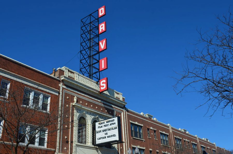 The Davis Theater. On Thursday, the theatre will host the inaugural Teach Abroad Film Festival, showcasing the work of several English as a Foreign language teachers.