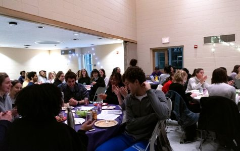Over 100 students attended Northwestern's Freedom Seder, the first since 2014. The event discussed several topics including the similarities between Jewish, Palestinian and black struggles.