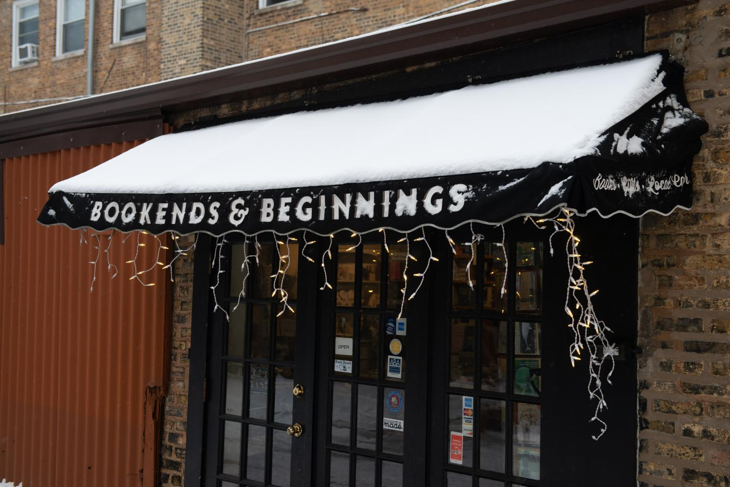 Bookends and Beginnings. The store, now its 5th year, will celebrate Independent Bookstore Day this Saturday.