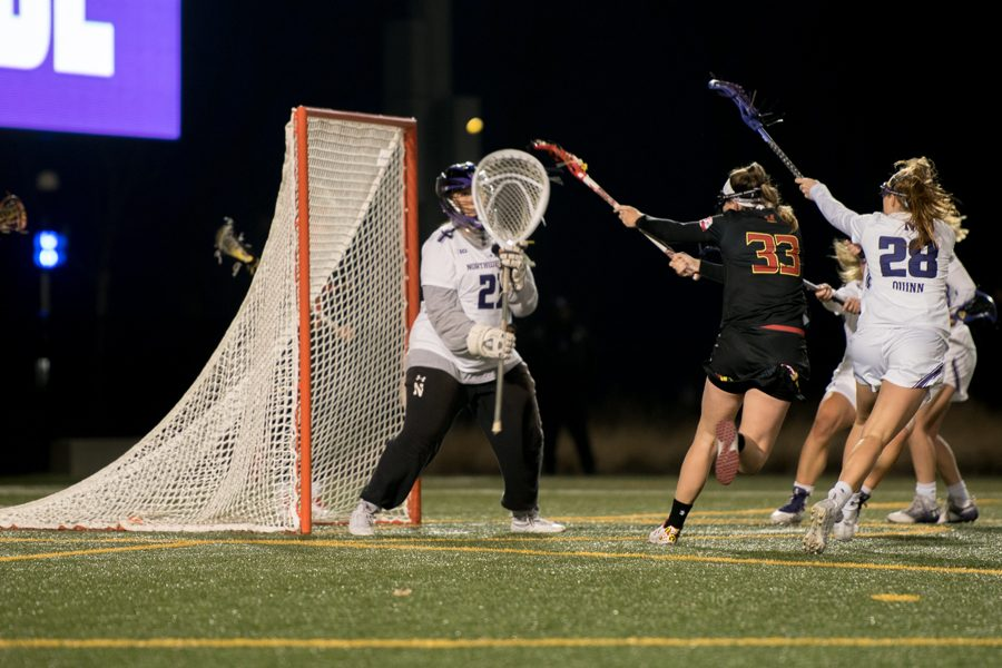 Mallory+Weisse+makes+a+save.+The+senior+goalkeeper+has+been+a+steady+presence+in+the+net+for+the+Wildcats+in+their+recent+wins.