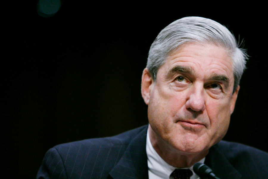 Robert Mueller. A redacted version of the special counsel's report was released after nearly two years of investigation.