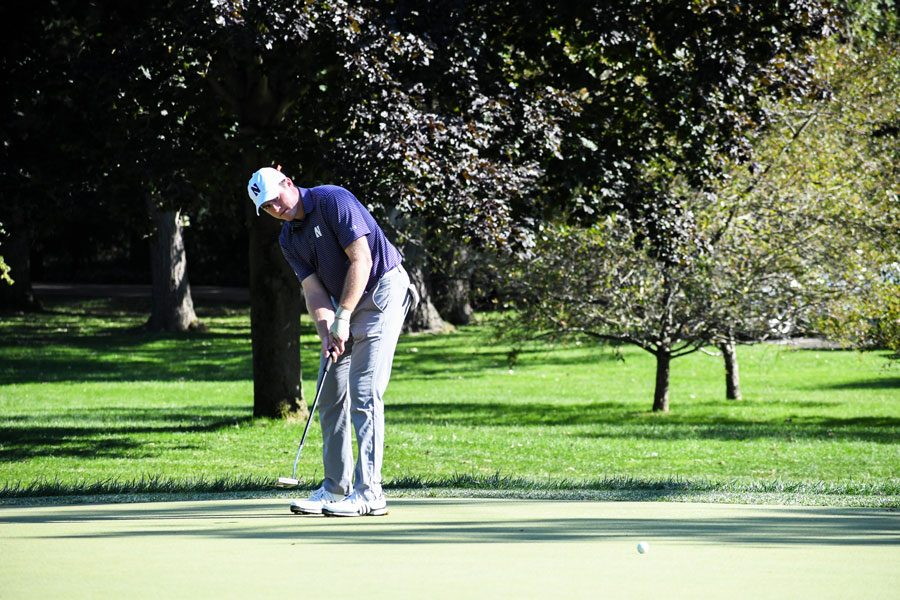 David+Nyfj%C3%A4ll+putts.+For+the+second+week+in+a+row%2C+the+freshman+led+NU+%E2%80%94+this+time+at+the+Boilermaker+Invitational.