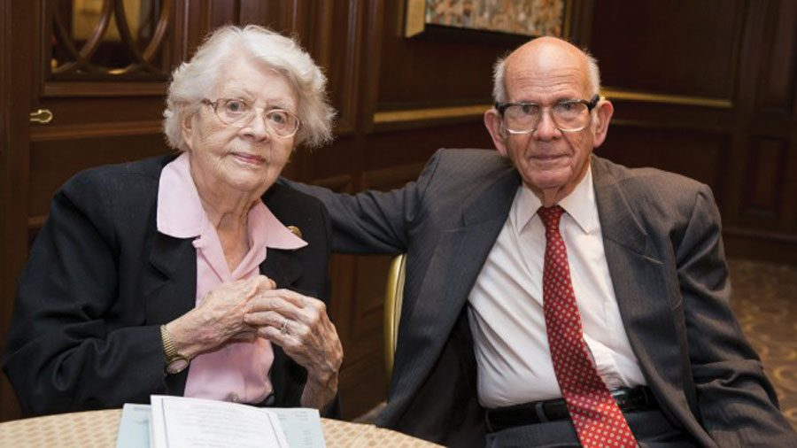 Christina Enroth-Cugell and David Cugell, former Northwestern faculty members. The family left over $9 million to the University upon their passing in 2016.