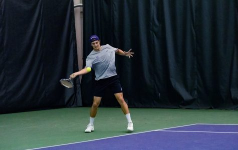 Men's Tennis: Northwestern rebounds from pre-break struggles, records wins over Iowa and Nebraska