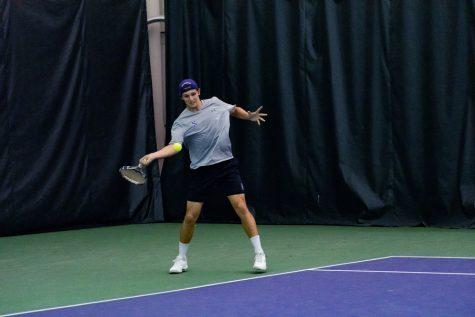 Men's Tennis: Northwestern rebounds from pre-break struggles, records wins over Iowa and Nebraska