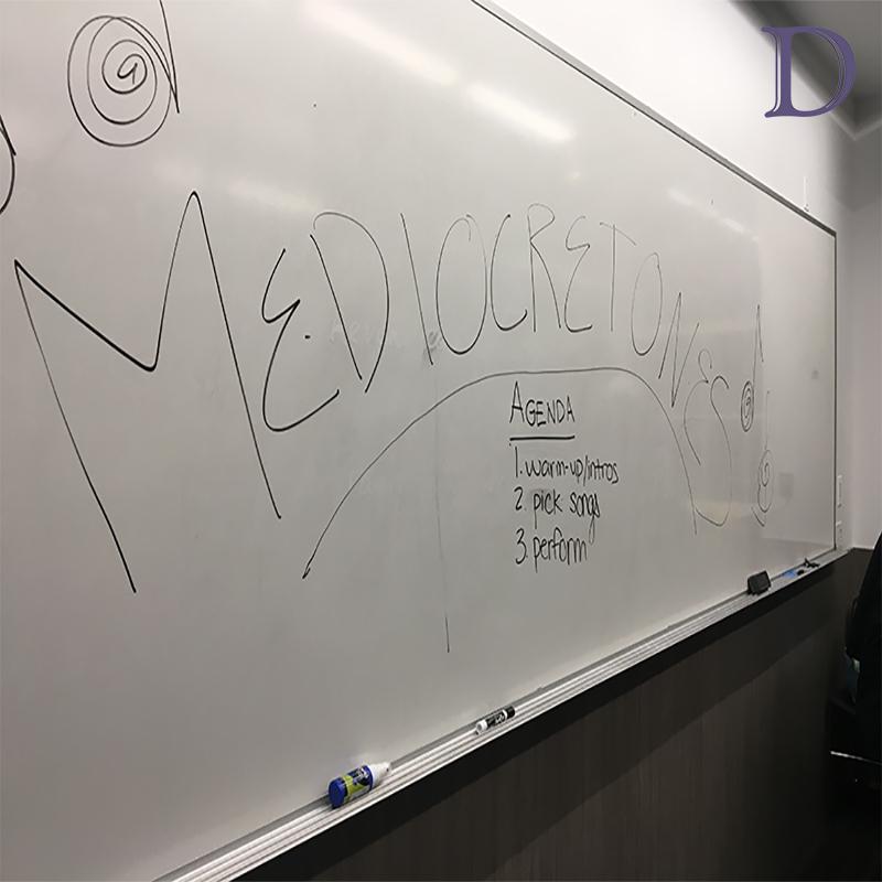 The Mediocretones hold auditions for Northwestern's 'average Joe' singers
