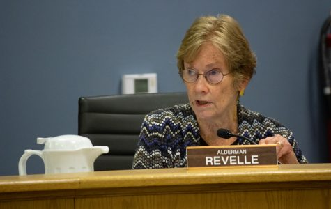 Ald. Eleanor Revelle at Monday's Rules Committee meeting. Revelle emphasized making sure residents have enough time to discuss matters important to them.