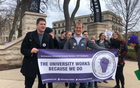 Graduate students march for guaranteed sixth-year research funding