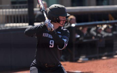 Softball: Cats sweep Purdue, honor Nelson and Novak