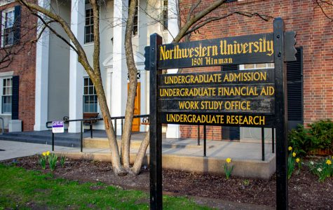 The undergraduate financial office, 1801 Hinman Ave. Education Reform Now is advocating for Northwestern to increase its financial aid commitment to low-income students.