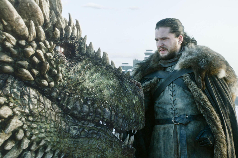 """""""Game of Thrones"""" returned to HBO on April 14 after an 18-and-a-half-month hiatus, with the Season 8 premiere racking up an estimated 17.4 million viewers across the globe, crowning it the most watched scripted show of 2019."""