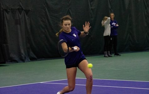 Women's Tennis: Cats win five straight matches, stay undefeated in Big Ten play