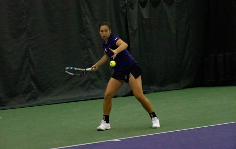 Women's Tennis: Wildcats finish regular season with two Big Ten matches