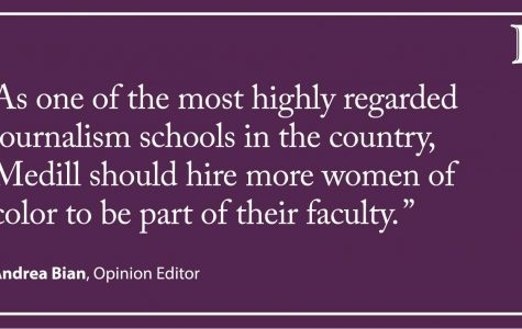 Bian: Medill faculty seriously lacking women of color