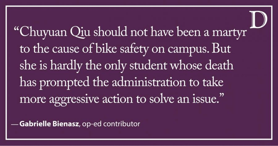 This is a University, not a war zone — so why do we have to die before Northwestern changes the rules?