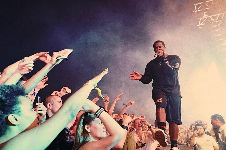 A$AP Ferg performs onstage. The rapper will headline Dillo Day 2019.