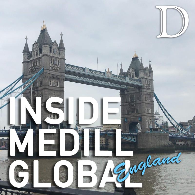 Medill sophomore talks school-hosted trip to London
