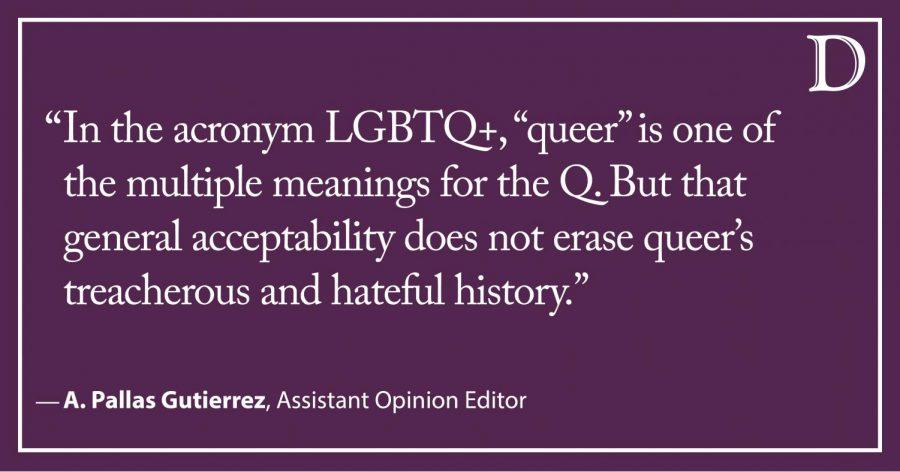 Queer: From slur to rainbow umbrella