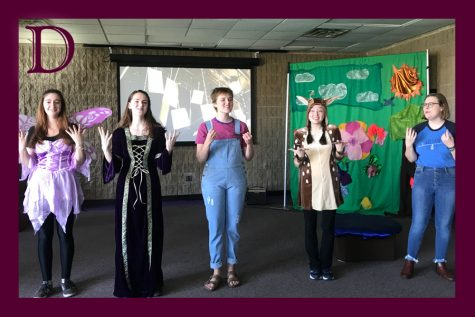 Seesaw Theatre presents interactive performance to researchers at CSDConnect