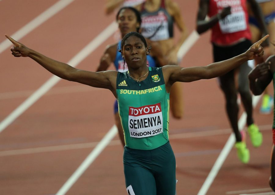 Caster Semenya of South Africa wins the womens 800m during the IAAF World Championships at London Stadium on August 13, 2017.