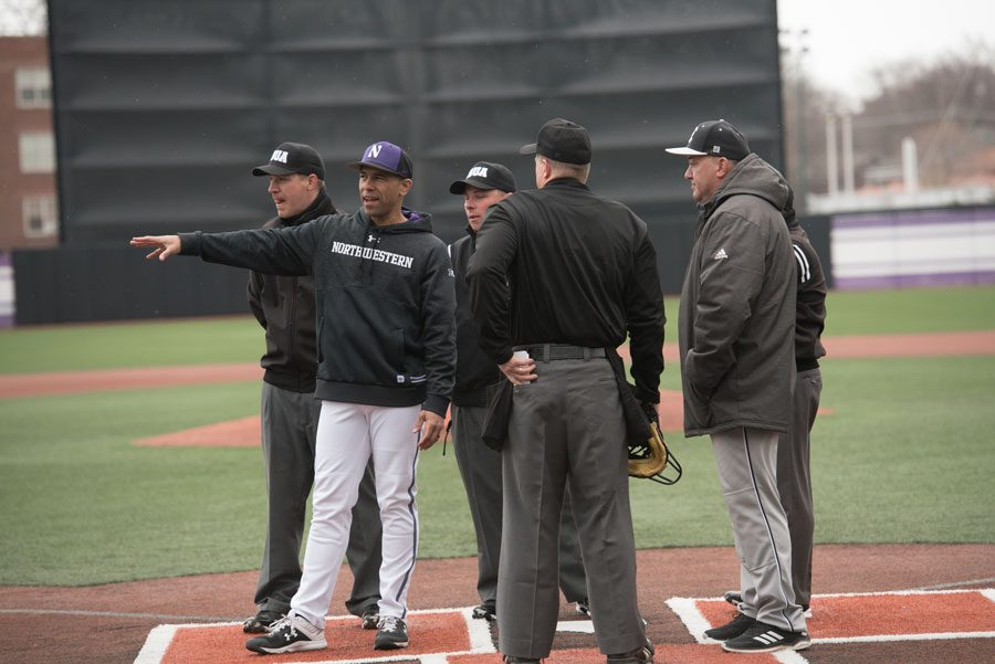 Baseball coach Spencer Allen. Across 19 varsity sports, Allen is the only black head coach the University has hired since the beginning of the 21st century.