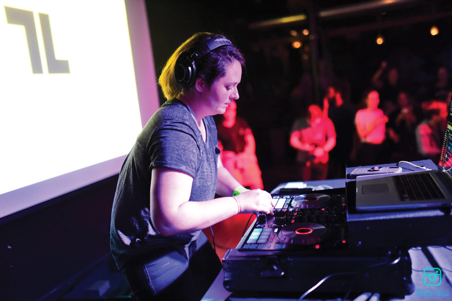 Communication junior Caroline Hughes, better known as Luminosity, won Battle of the DJs last Thursday, May 9.