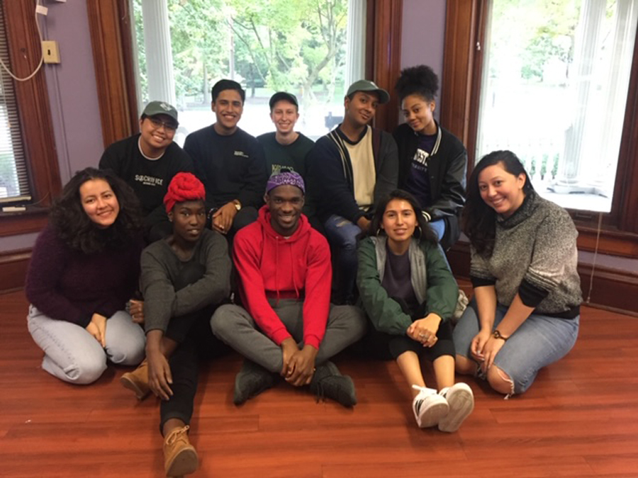 The Compass peer mentor program gives guidance and resources to a selected group of the first-generation and low-income community.