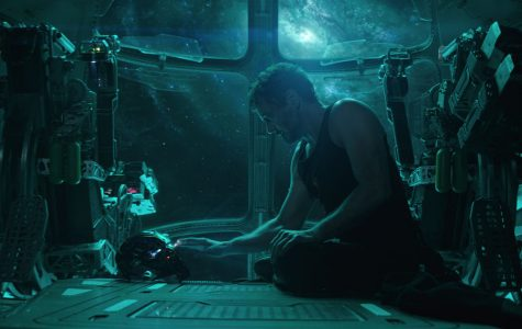 """Tony Stark (a.k.a. Iron Man, played by Robert Downey, Jr.) in """"Avengers: Endgame."""" """"Endgame"""" gives a satisfying end to over ten years of films from the Marvel franchise.  This piece includes spoilers for """"Avengers: Endgame."""""""