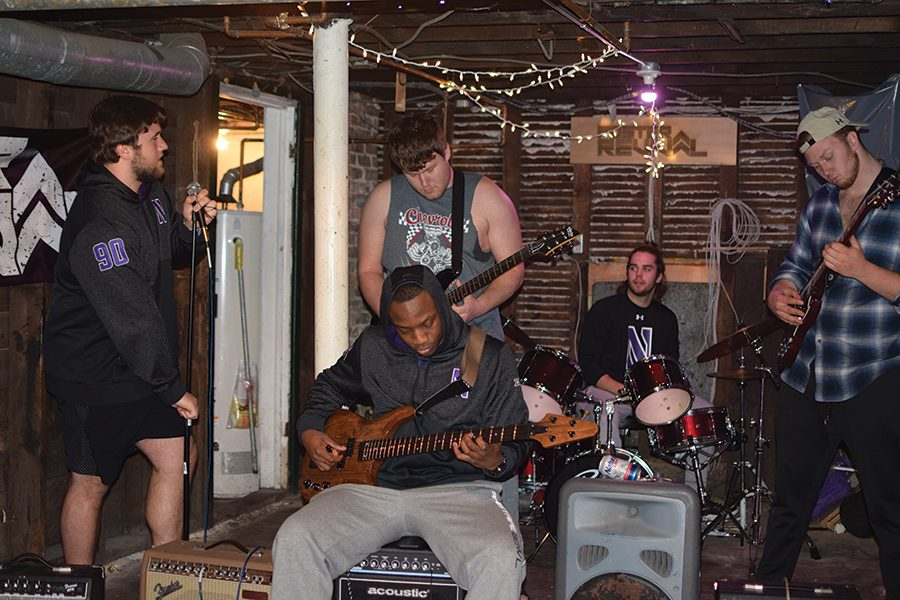 NU football rock band Foster Revival learns to keep rhythm on and off the field