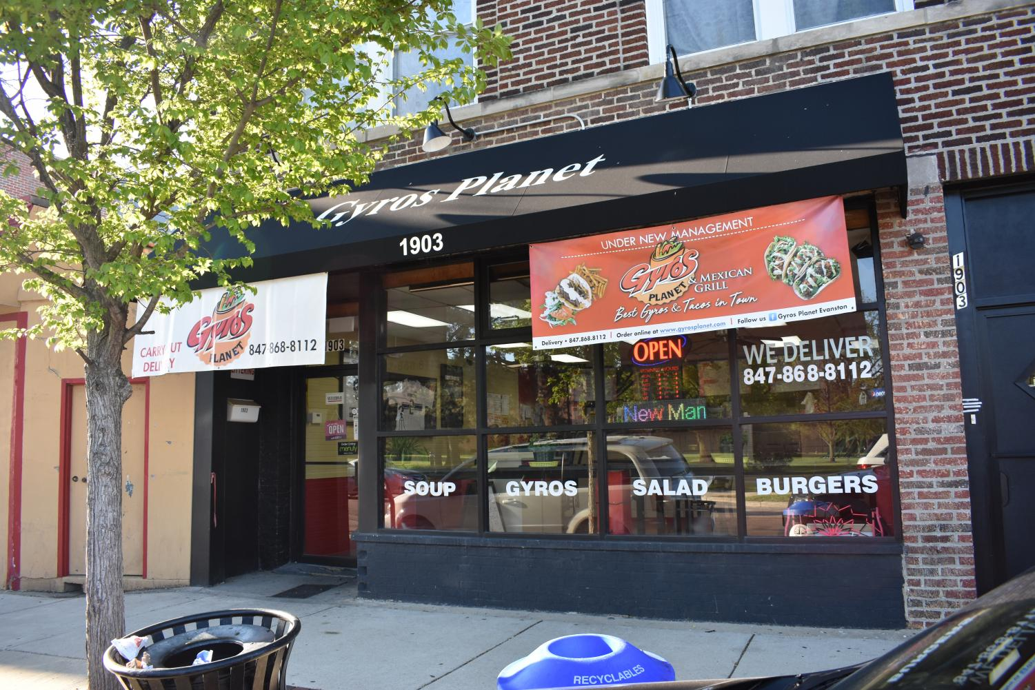 Gyros Planet, 1903 Church St. Co-owners Erika Castro Sanchez and Pablo Sanchez reopened the business with the hopes of building community.