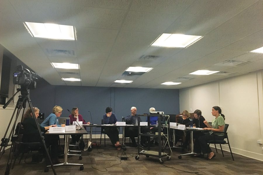 Evanston's Mental Health Board in November 2018. The board tries to allocate funds toward areas that people do not typically consider as being connected to mental health issues.