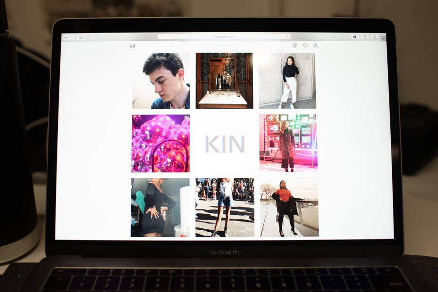 KIN's Instagram page. The newly-founded style collective focuses on elevating marginalized voices.