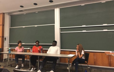 Students discuss experiences as black immigrants at discussion panel