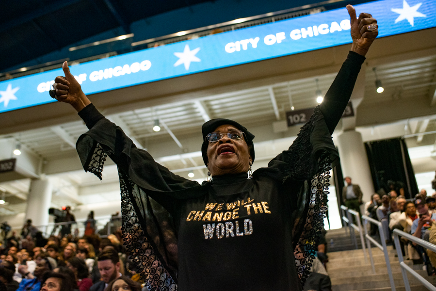 Captured: Witnessing History, the inauguration of Mayor of Chicago Lori Lightfoot