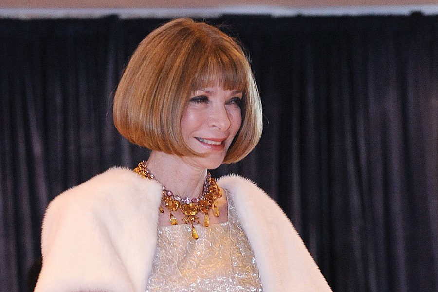 Anna Wintour. The longtime Vogue editor-in-chief hosts the Metropolitan Museum of Art Costume Institute's annual Met Gala.
